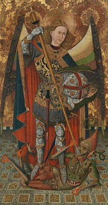 Painting - Saint Michael by Master of Belmonte