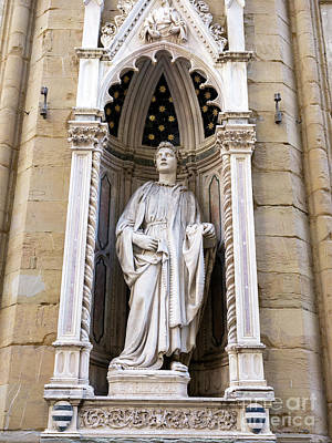 Photograph - Saint Philip At The Orsanmichele In Florence by John Rizzuto