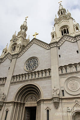Photograph - Saints Peter And Paul Church On Filbert Street San Francisco R289 by Wingsdomain Art and Photography