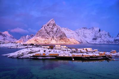 Photograph - Sakrisoy Island by Michael Blanchette
