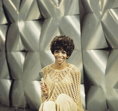 Photograph - Salena Jones Performs On Tv Show by David Redfern