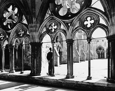 Photograph - Salisbury Cloisters by George H. Hall