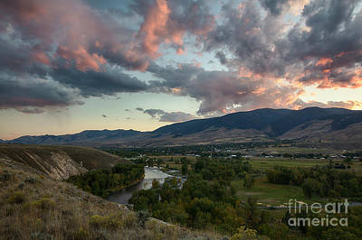 Photograph - Salmon Clouds by Idaho Scenic Images Linda Lantzy
