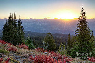 Photograph - Salmon River Mountains by Idaho Scenic Images Linda Lantzy