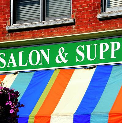 Photograph - Salon Supply by Jerry Sodorff