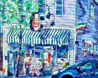Painting - Sal's by Les Leffingwell