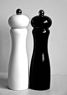 Close Up Photograph - Salt & Pepper by Daniela White Images