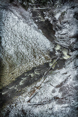 Photograph - Salt Creek Below The Falls by Belinda Greb