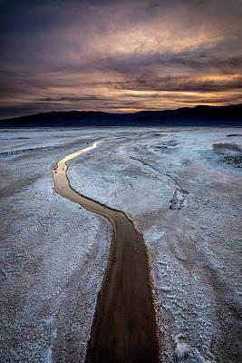 Photograph - Salt Creek Flats IIi by Peter Tellone