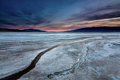 Photograph - Salt Creek Flats Iv by Peter Tellone