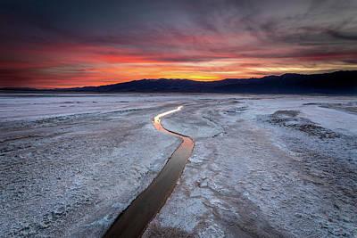 Photograph - Salt Creek Flats by Peter Tellone