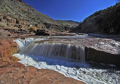 Photograph - Salt Falls by Gary Kaylor