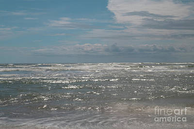 Photograph - Salty Sea Breezes - Folly Beach In Charleston Sc by Dale Powell