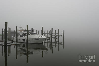Photograph - Salty Southern Fog by Dale Powell