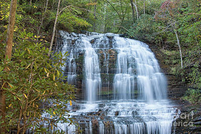 Photograph - Saluda Nc Water Fall by Dale Powell