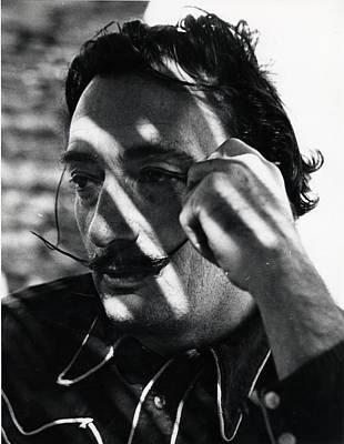 Photograph - Salvador Dali by Gjon Mili