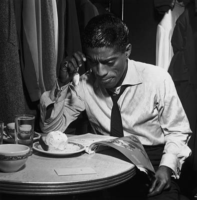 Photograph - Sammy Davis Jnr by Archive Photos