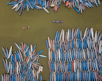 Photograph - Sampan Madness by Rand