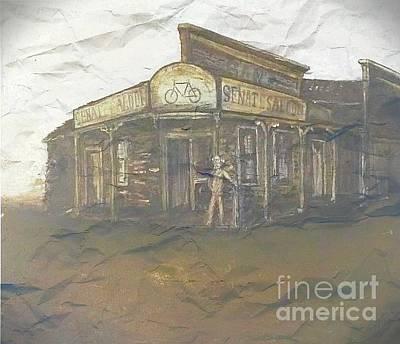 Painting - Sam's Senate Saloon by Michael Silbaugh