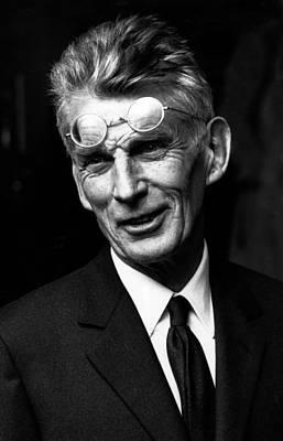 Photograph - Samuel Beckett by Reg Lancaster