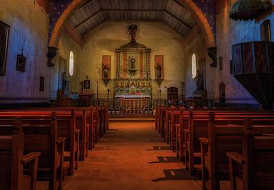 Photograph - San Antonio De Padua Sanctuary by Thomas Hall