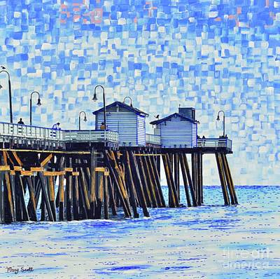 Painting - San Clemente, Ca by Mary Scott