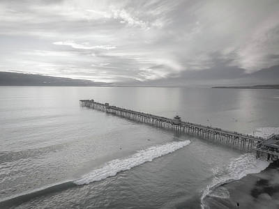 Photograph - San Clemente Pier by Seascaping Photography
