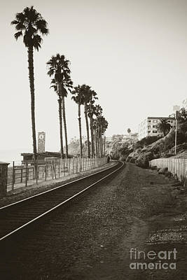 Photograph - San Clemente Train Tracks by Ana V Ramirez
