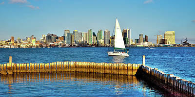 Photograph - San Diego Cityscape by David Patterson