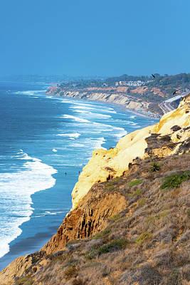 Photograph - San Diego Coastine Beach by Debbie Ann Powell