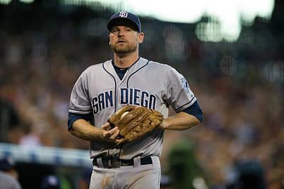 Photograph - San Diego Padres V Colorado Rockies by Dustin Bradford