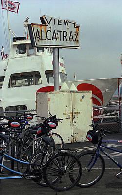 Photograph - San Francisco Alcatraz Sign 2007 #2 by Frank Romeo