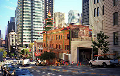 Photograph - San Francisco Chinatown 2007 #2 by Frank Romeo