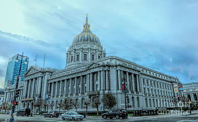 Photograph - San Francisco City Hall by Chuck Kuhn