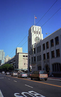 Photograph - San Francisco Clock Tower 2007 by Frank Romeo