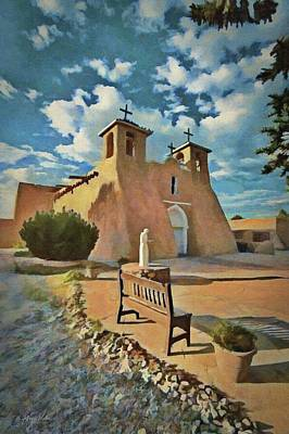 Painting - San Francisco De Asis by Jeffrey Kolker