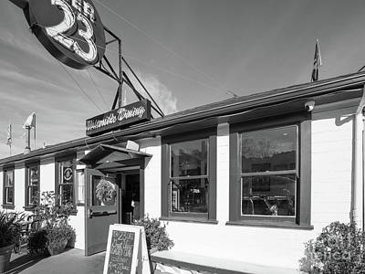 Photograph - San Francisco Embarcadero Pier 23 Cafe Dsc6782bw by Wingsdomain Art and Photography