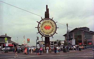 Photograph - San Francisco Fishermans Wharf 2007 by Frank Romeo