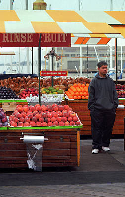 Photograph - San Francisco Fruit Stand 2007 #2 by Frank Romeo