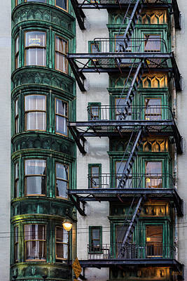 Photograph - San Francisco I Color by David Gordon
