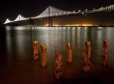 Photograph - San Francisco Oakland Bay Bridge by Nathan Rupert