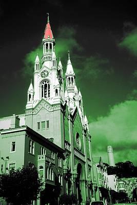Photograph - San Francisco Peter And Paul Church - Digital Photo Art by Peter Potter