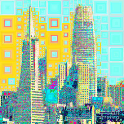 Photograph - San Francisco Salesforce Transbay Transit Center Tower And Transmerica Pyramid Skyline 20190207zsq by Wingsdomain Art and Photography