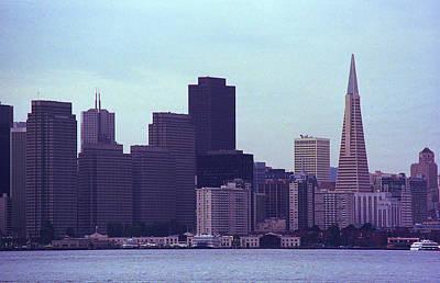 Photograph - San Francisco Skyline 2007 by Frank Romeo