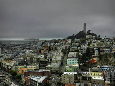 Photograph - San Francisco - Telegraph Hill 002 by Lance Vaughn