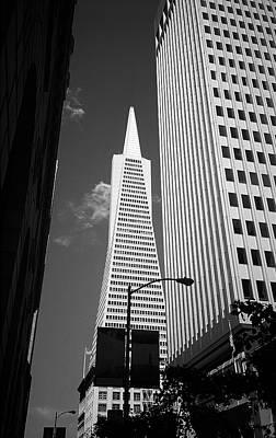 Photograph - San Francisco - Transamerica Pyramid Bw by Frank Romeo