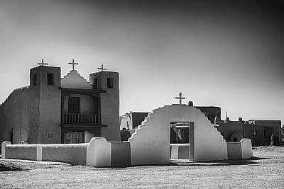 Spot Of Tea Royalty Free Images - San Geronimo de Taos Royalty-Free Image by Guy Shultz