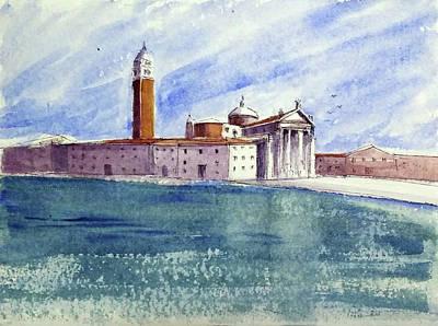 Painting - San Giorgio Maggiore, Venice by Asha Sudhaker Shenoy