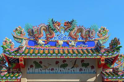 Photograph - San Jao Phut Gong Dragon Gate Dthu0702 by Gerry Gantt