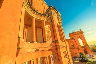Photograph - San Luca Arcades Bologna by Benny Marty